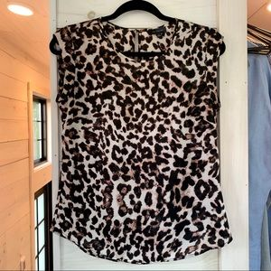 The Limited leopard print blouse